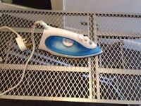 iron and ironing board - good condition - £8