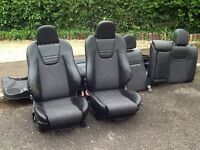 VAUXHALL ASTRA GSI FULL INTERIOR SEATS AND DOOR CARDS BARGAIN