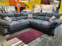BRAND NEW LOGAN JUMBO CORD AVAILABLE IN 3+2 AND CORNER SOFA IN STOCK