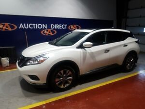 2017 Nissan Murano SV HUGE PANO ROOF, AWD, HEATED STEERING WHEEL