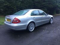 2004 MERCEDES E220 CDI DIESEL AUTOMATIC, LONG MOT, GORGEOUS CAR - CHEAP TRADE IN WELCOME