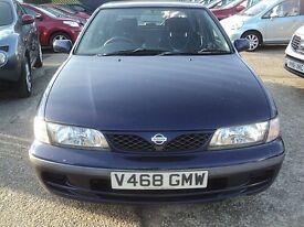 Nissan Almera with A/C £395