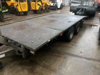 I 4 Williams Bever Tail Trailer (With Winch) LM166G