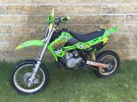 Kx 65 swap for bigger bike 250?