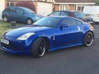 Nissan 350z 2003 Blue 3.5L Imported 2008 Beautiful car, really well taken care of. Head turner!