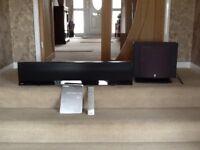Yamaha sound bar and subwoofer YSP-4100