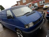 VW T4 Transporter 2.4 D LWB,ideal camper,day,surf bus conversion