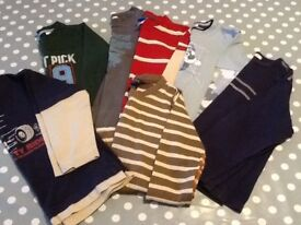 13 piece bundle of boy clothes, age 4-5 yrs, immaculate