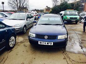 ** 2000 Volkswagen Passat 1.9 TDI PD SE 4dr ESTATE **