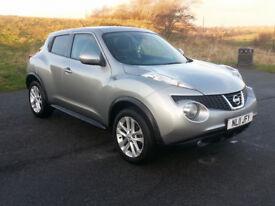 Cheapest in country. 2011 Nissan Juke 1.5 DCI Acenta Premium. SatNav. P/X Welcome