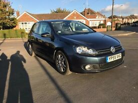 Volkswagen golf 1.6 tdi bluemotion 59 plate