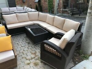 Highest QUALITY Wicker Rattan SOFA SETS - NEW