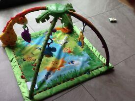 Fisher Price Rainforest Activity Babies Gym