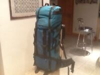 70-90 litre capacity Modam DISCOVERY waterproof rucksack-was lightly used once then in storage