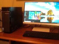 COMPUTER -LENOVA desktop computer