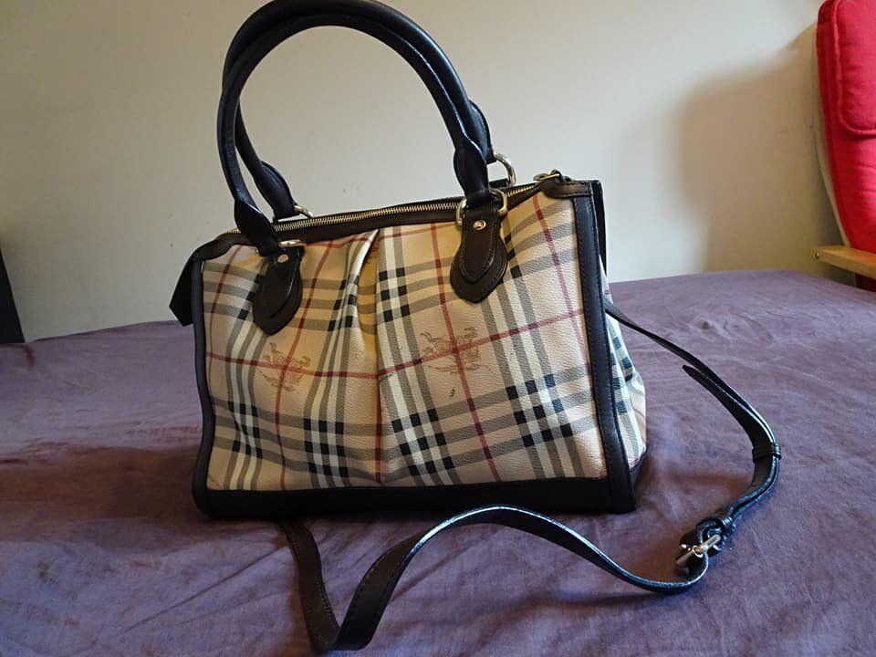 d15fec7f80bc Original Burberry bag for sale