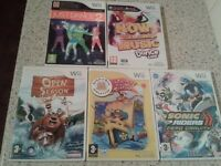 wii games £2.50 each or all for £10