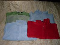 5 boys fleeces from vertbaudet