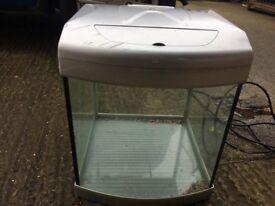 Small fish tank , aquarium , aquastart 320 , possible free delivery