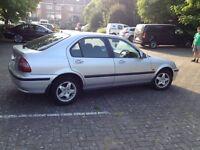 2000 Honda Civic, 8 months MOT, low mileage