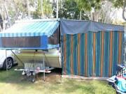 Poptop Caravan with full Annex Eimeo Mackay City Preview