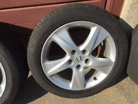 Alloy wheels and tyres R 17 225/50