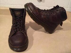 Men's Size 8, Women's 9 Dr. Martens Industrial Steel Toe Work Boots