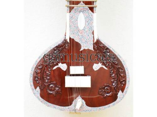 SITAR FUSION ELECTRIC SITAR WITH FIBERGLASS CASE GSM031 C