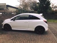 vauxhall corsa limited edition 1.2