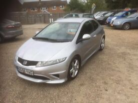 2009 [59] HONDA CIVIC TYPE-S 75,000 MILES NEW CLUTCH