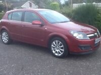 2006 Vauxhall Astra Design,Mot 12 Mths,Leather Seats