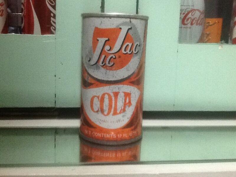 Jic Jac Cola Soda Can Hard to Find