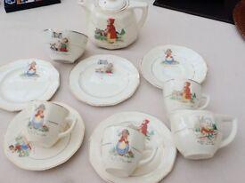 Vintage Nursery Tea Set