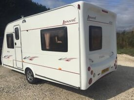 Elddis avante 2005 5 berth,no damp at all,