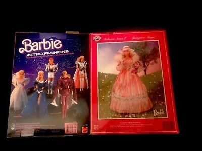 Set of 2 1985 Barbie Astro & 1983 Springtime Magic Collection Series Fashion