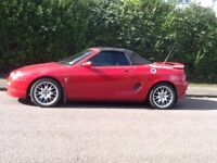 Mg f type sports car lovely condition lively and fun great to drive