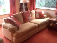 Two sofas, armchair & ottoman, avail. as set or individually. Fantastic condition. Smoke free home.