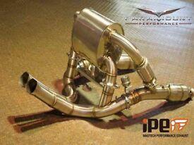 Upgrade the exhaust system of your Lamborghini with in £3400.00