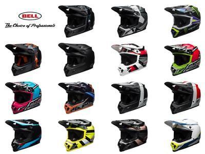 BELL MX-9 MIPS Helmet - Motocross Dirt Bike Off Road ATV MTB Adult Helmet Bell Road Bike Helmets