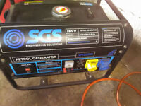 2200W Petrol generator 240/110 volt output