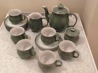 Denby Tea Set Regency Green