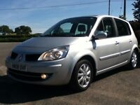 *!*LOW MILES*!* 2008 Renault Scenic 1.6 VVT Dynamique **MOT'd 10th MAY 2017** **SERVICE HISTORY**