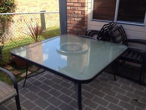 8 seater outdoor table setting Cromer Manly Area Preview
