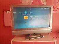 """32"""" silver tv"""