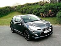 Used Car Unbeatable Price! Citroen DS3 1.6 VTI 120bhp DStyle+ Charcoal Grey - 12.5k miles MUST SEE!