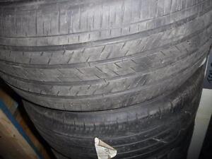 4 pneus d'été 245/50/17 Michelin Pilot HXMXM4, 40% d'usure, mesure 6/32.