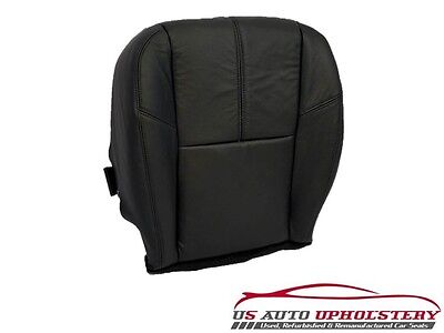2008 Chevy Silverado 1500 LT 2500HD *Driver Side Bottom Leather Seat Cover Black