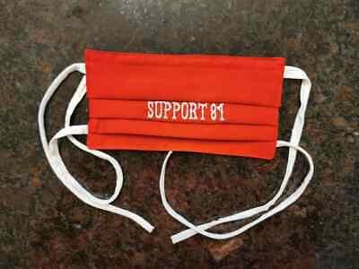 Hells Angels SUPPORT 81 Mundschutz rot/weiß BIG RED MACHINE