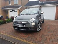 FIAT 500 SPECIAL CULT EDITION FULL LEATHER PANORAMIC SUNROOF FIAT WARRANTY 1 OWNER GREAT FIRST CAR