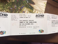 1 x standing ticket for James & Charlatans Liverpool